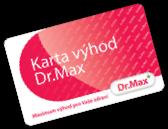 Dr.Max Karta vyhod